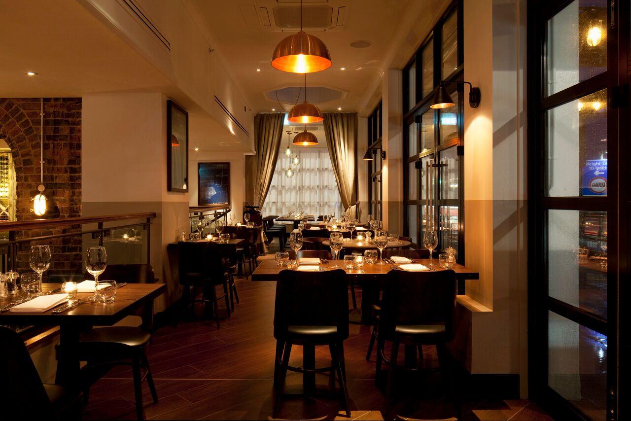 inside the salt room restaurant