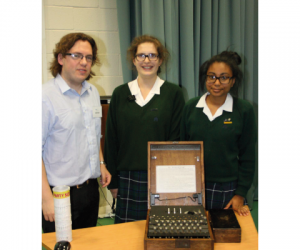 farlington-school-enigma-machine