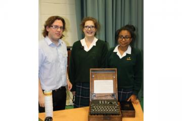 farlington-school-enigma-machine