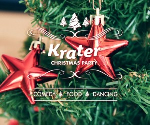 krater comedy christmas party