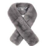 Long Faux Fur Tippet
