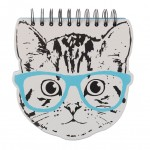 BHS: Cat Spiral Notebook
