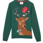 Burton: Green Party Stag Jumper