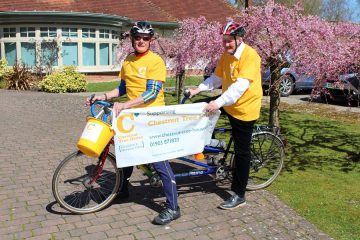Blind Man Cycles To Paris To Raise Money For Sussex Children's Charity