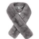 Long Faux Fur Tippet