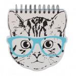 BHS: Cat Spiral Notebook