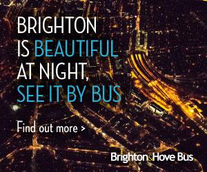brighton by bus